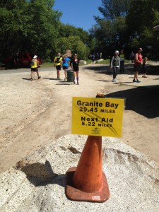 Bye Bye Granite Bay Aid-Station