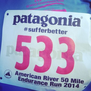 My official race number
