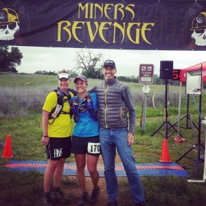 Pigeon won first in her age group. I took second. Coach Nikon wins for best trail marathon.