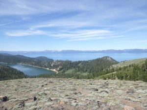 Marlette on the left and Tahoe on the right.