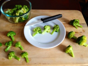 My broccoli assignment.