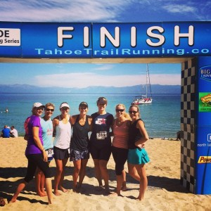 From Left to Right: Silly Suzie, Mill Valley Anne, Salmon Falls Kristin, Me, Ironman April, Twin Karla and Stonegate Jenn