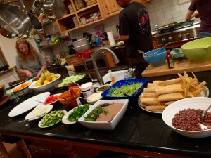The Saturday Night Meal Spread