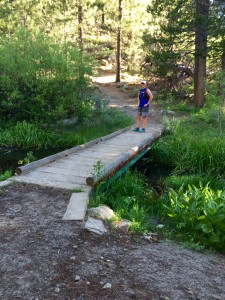 First little bridge approaching Spooner Lake