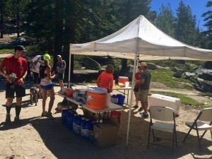Tunnel Creek Aid-Station!