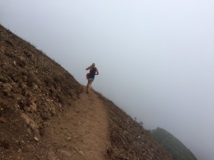 Just keep running up that hill into the fog and the unknown!