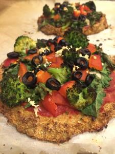 Cauliflower Pizza - YUM!