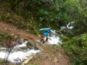 The waterfalls were everywhere!