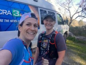 News Van on the trails!