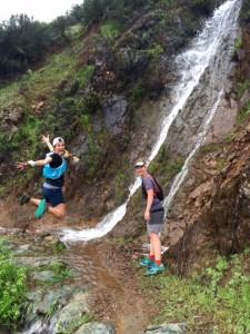 Waterfall fun!