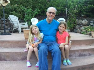 Jersey Dad and his grand daughters!