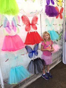 All the tutus and all the fairy wings = heaven for Squeaker