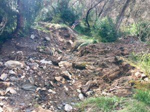 Dangerous mudslides