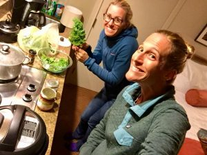 Plant-Based Athletes recovering with plant-strong food!