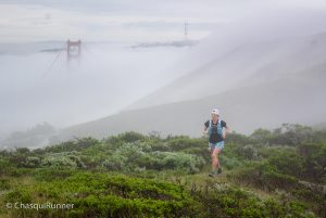 The Golden Gate behind me. Photo from